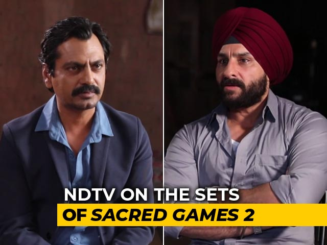 Saif And Nawaz Spill The Beans On Sacred Games 2