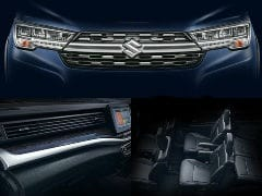 Maruti Suzuki XL6 Cabin Revealed In New Teaser Images