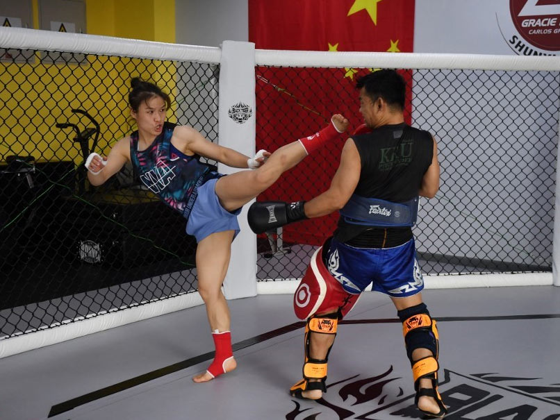Inspired By Ronda Rousey, China