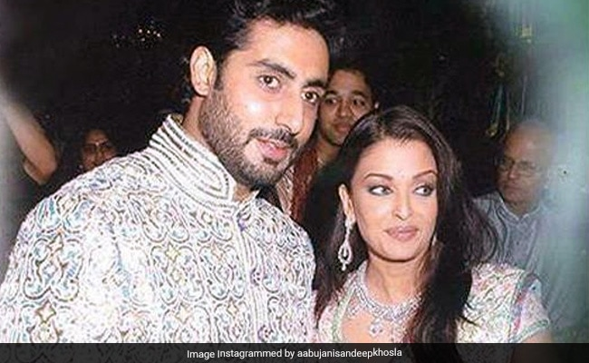 Seen These Pics From Abhishek Bachchan And Aishwarya Rai Bachchan's Wedding Yet?