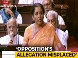Video : Nirmala Sitharaman Says Article 370 Has Been A Commitment Of BJP Since Jan Sangh