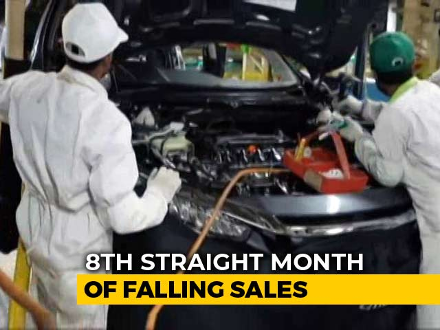 Video : Passenger Vehicle Sales Plunge 31%, Steepest Fall In Nearly 2 Decades