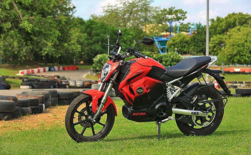 The Revolt RV400 has a top speed of 80 kmph and has an ARAI certified range of 156 km per charge