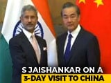Video : India, China Ties Should Be A Factor Of Stability: S Jaishankar