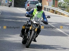 2020 Triumph Tiger 800 Spotted Testing