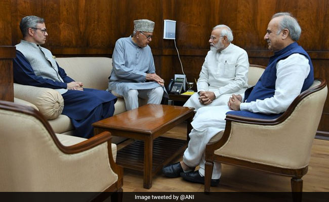 'Hold Assembly Elections Before End Of Year': Omar Abdullah To PM Modi