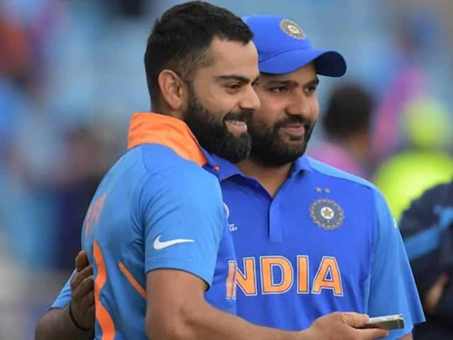 Jadeja impersonates Virat Kohli for Rohit Sharma - all three share a laugh