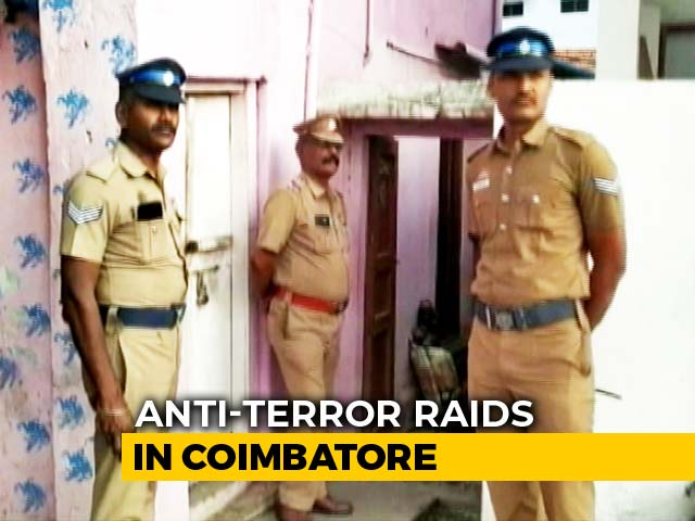Video : Anti-Terror Agency NIA On Lookout For Lashkar Terrorists In Coimbatore