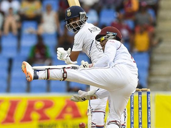 WI vs IND 1st Test Day 1: अजिंक्य रहाणे ने जड़ा अर्धशतक, पहले दिन टीम इंडिया का स्कोर 203/6