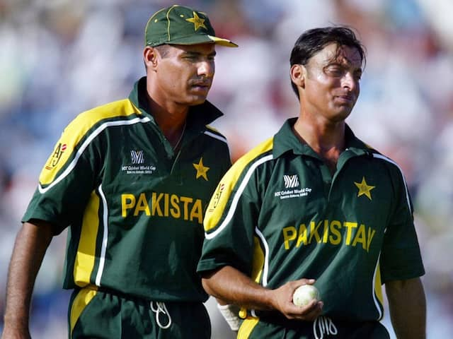 """Shoaib Akhtar Blames Waqar Younis """"Poor Captaincy"""" For His Mediocre Showing vs India In 2003 World Cup"""