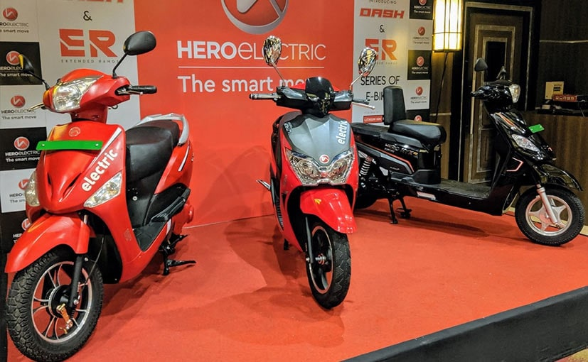 The Hero Dash electric scooter was launched in India in August 2019
