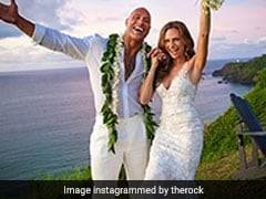 "Dwayne ""The Rock"" Johnson Ties The Knot With Longtime Girlfriend"