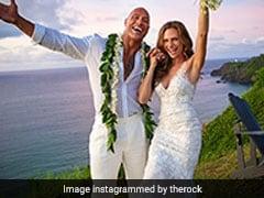 "Dwayne ""The Rock"" Johnson Ties The Knot With Longtime Girlfriend Laura Hashian In Hawaii"