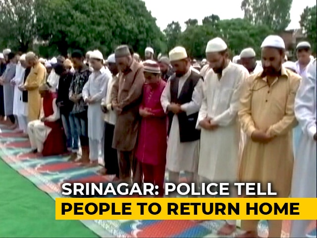 Video : Muted Eid Celebrations In Kashmir As Severe Restrictions Return