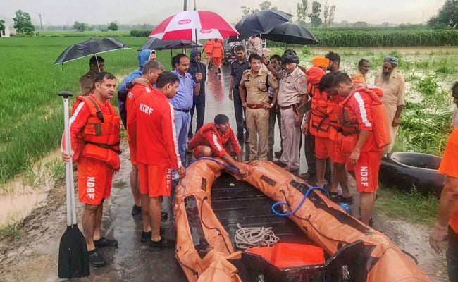 Over 55 Dead In Rain In North India; Yamuna Above Danger Mark In Delhi