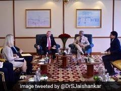 S Jaishankar Holds Talks With US Deputy Secretary John Sullivan