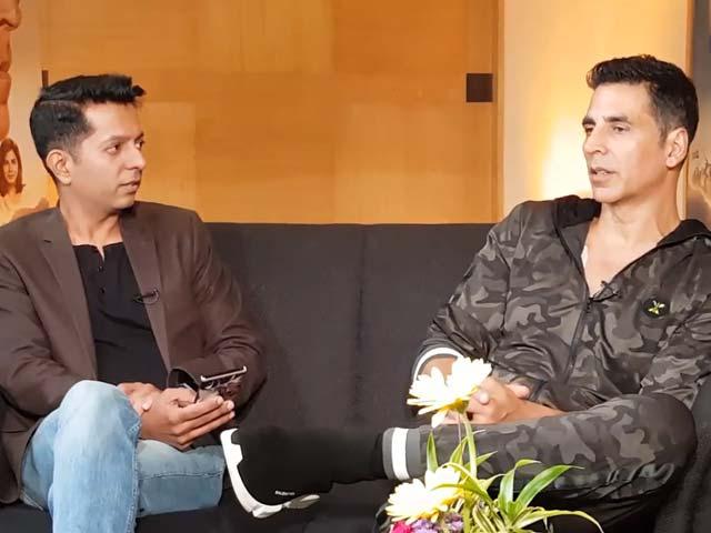 Video : Akshay Kumar, Vidya Balan & Taapsee Pannu On 'Mission Mangal'