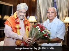 """Will Get Final List From Amit <i>Bhai</i>"": BS Yediyurappa On Karnataka Cabinet"