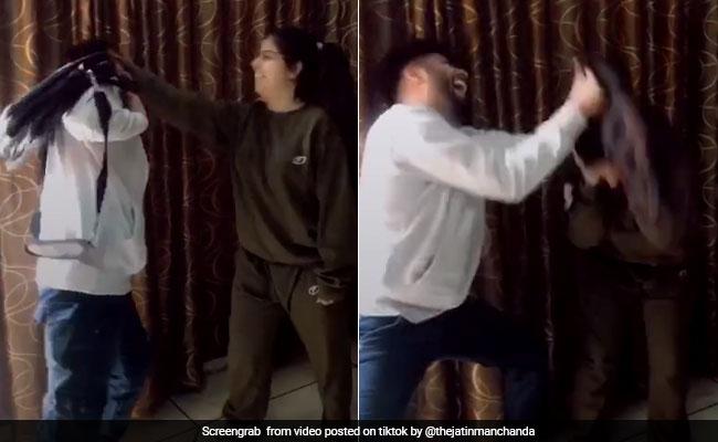 Raksha Bandhan: बहन बनी 'तारक मेहता...' की 'दया बेन', भाई की ऐसे की कुटाई, देखें VIDEO