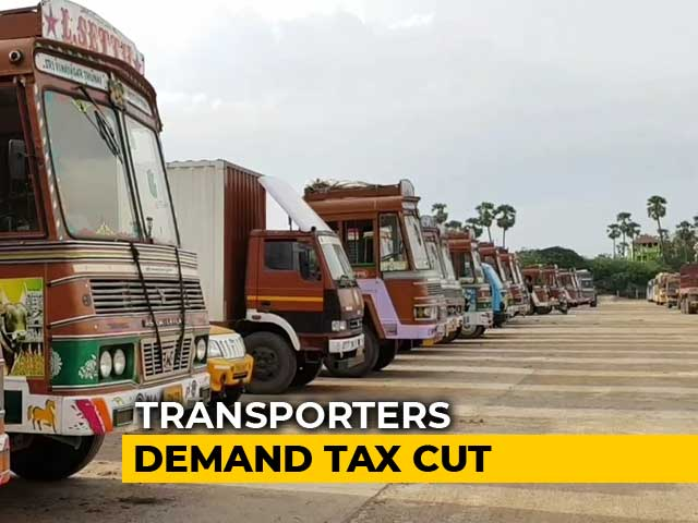 Video : Transport Industry Puts On Hold Buying New Vehicles, Seeks Bail Out