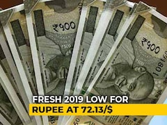 Video: Rupee Declines By 51 Paise To Hit New 2019 Low Against Dollar