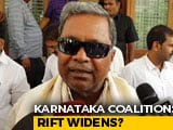 Video : Siddaramaiah Hits Back After HD Deve Gowda Blames Congress For Crisis