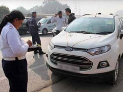 Delhi Cop Caught Driving Without Insurance, Pollution Certificate; Fined