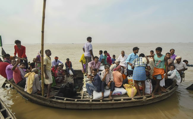 Ganga Water Level Above Danger Mark In Bihar, Alert Issued For Low-Lying Areas