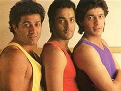 This Pic Of Sunny Deol, Sanjay Dutt And Chunky Panday Is The Mother Of All Throwbacks