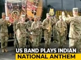"Video : Watch: US Army Band Plays ""<i>Jana Gana Mana</i>..."" During Joint Military Drill"