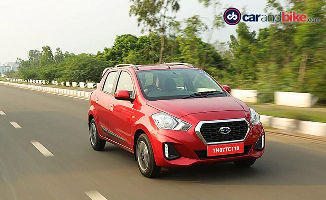 The price hike is applicable to the manual versions of the Datsun GO and GO+