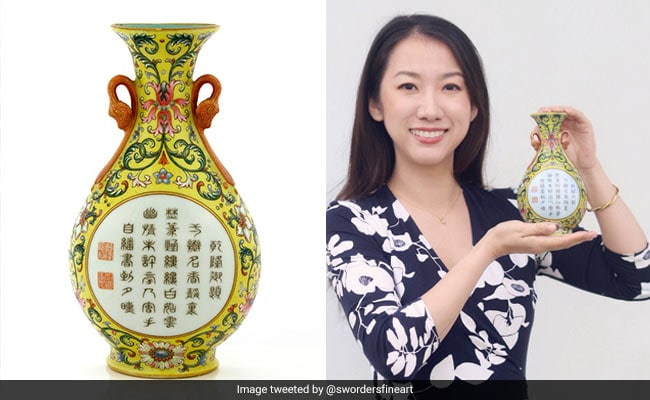Lucky Find: Bought For A Pound, Vase Once Belonged To A Chinese Emperor