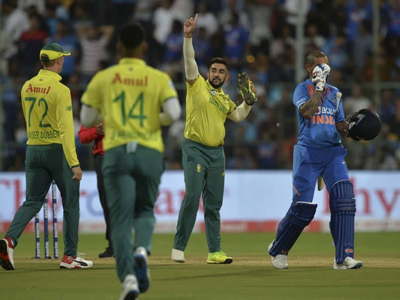 India vs South Africa: No Disrespect For Shikhar Dhawan, Says Tabraiz Shamsi After Shoe Celebration In 3rd T20I