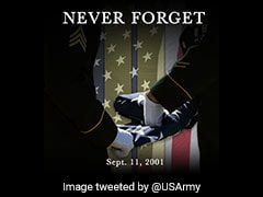 """Never Forget"": On 9/11 Attacks Anniversary, Tributes Pour In On Twitter"