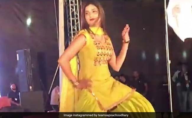 Sapna Choudhary Dance Video: सपना चौधरी के डांस को देखने उमड़ी लोगों की भीड़, वीडियो ने उड़ाया गरदा