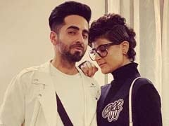Will The Real <I>Dream Girl</i> Please Stand Up In This Pic Of Ayushmann Khurrana And Tahira Kashyap?