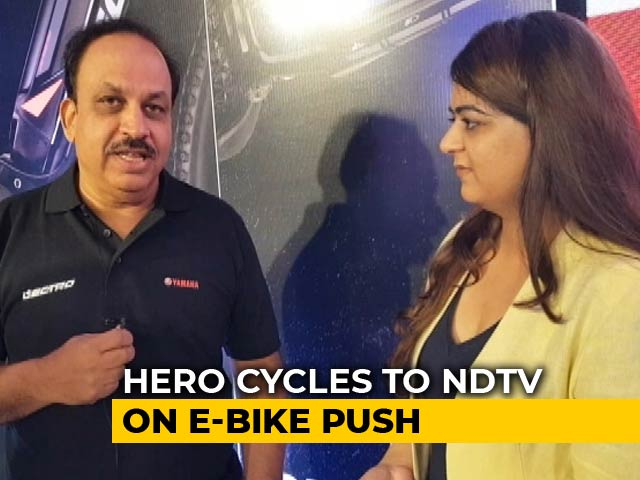 Video: Hero Cycles: Government Must See E-Bikes As An Alternative