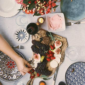 7 Printed Dinner Plates That Are Anything But Boring