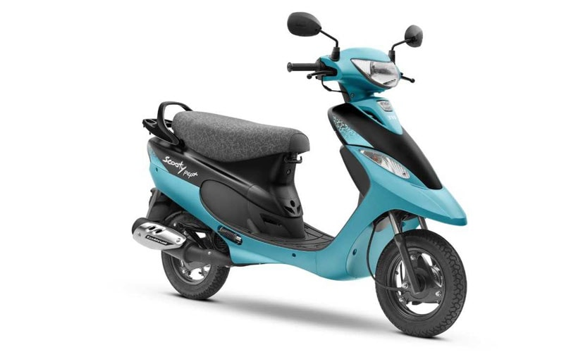 Image result for TVS Scooty Pep+ Matte Edition