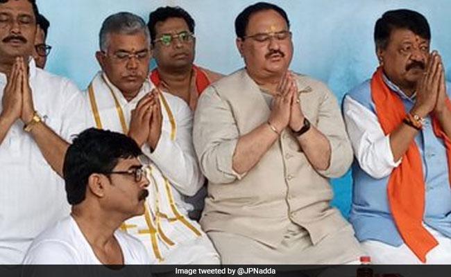 'Jungle Raj, Reign Of Terror In Bengal': BJP's JP Nadda Visits Kolkata