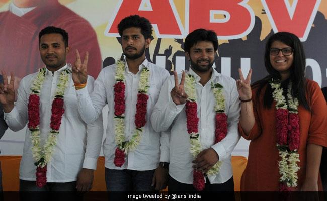 ABVP Dedicates Its Win In DUSU Polls To Arun Jaitley