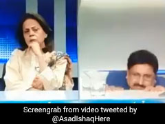 Video: Pakistani Analyst Falls Off Chair During Live TV Debate