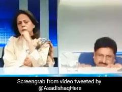 டிவி விவாதத்தின்போது ரிப்பேரான நாற்காலி! தொப்பென்று தரையில் விழுந்த விருந்தினர்!! #Video