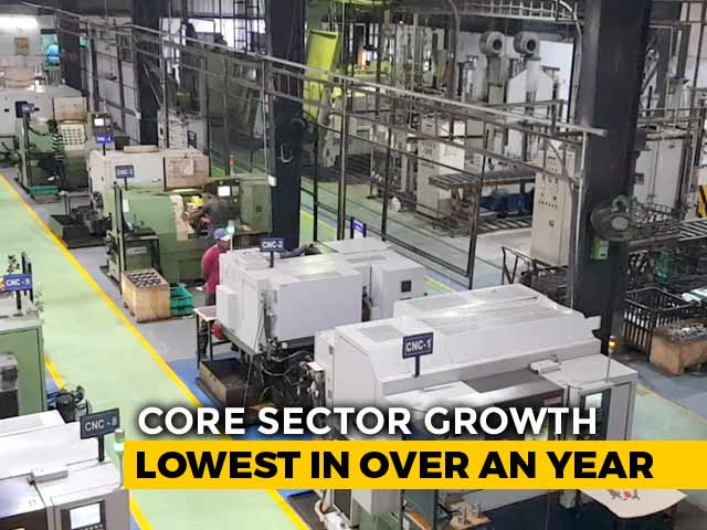 Video: Core Sector Output Declines By 0.5% In August