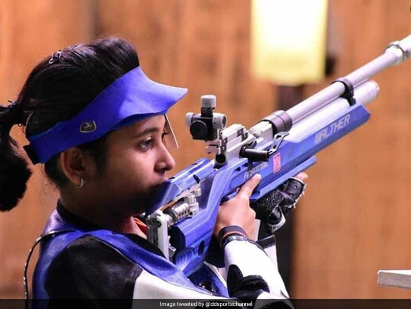 Mehuli Ghosh Bags Twin Titles In 10m Air Rifle At National Trials