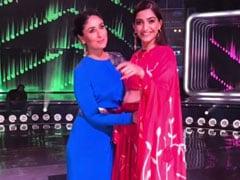 When Kareena Kapoor And Sonam Kapoor Recreated <i>Tareefan</i> On The Sets Of <i>Dance India Dance</i>