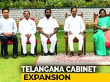 Video : 6 Ministers Inducted Into Telangana Cabinet, Including KCR's Son, Nephew