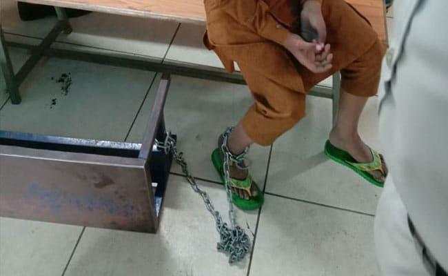 10-Year-Old Boy Found Chained To Metal Bench At Madhya Pradesh Madrasa
