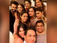 On Ganesh Chaturthi, Ekta Kapoor Invited Mouni Roy, Anita Hassanandani And Others Over To Celebrate