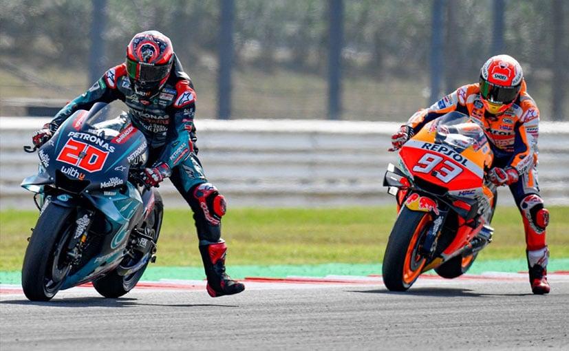 MotoGP: Marquez Beats Quartararo In Last-Lap Battle To Win San Marino GP